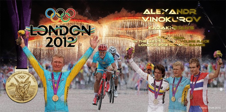 Alexander Vinokurov London 2012 Gold Medal